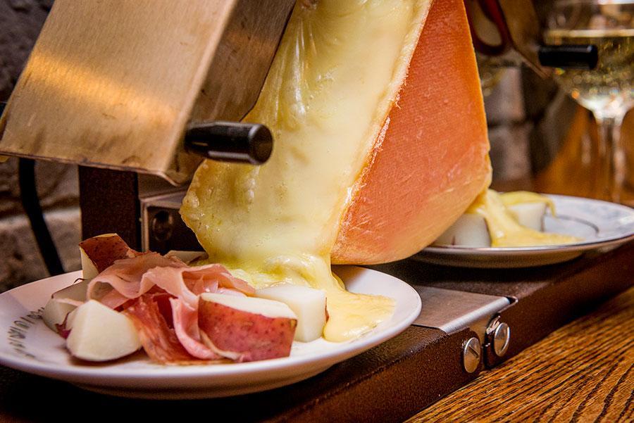 soirée raclette post
